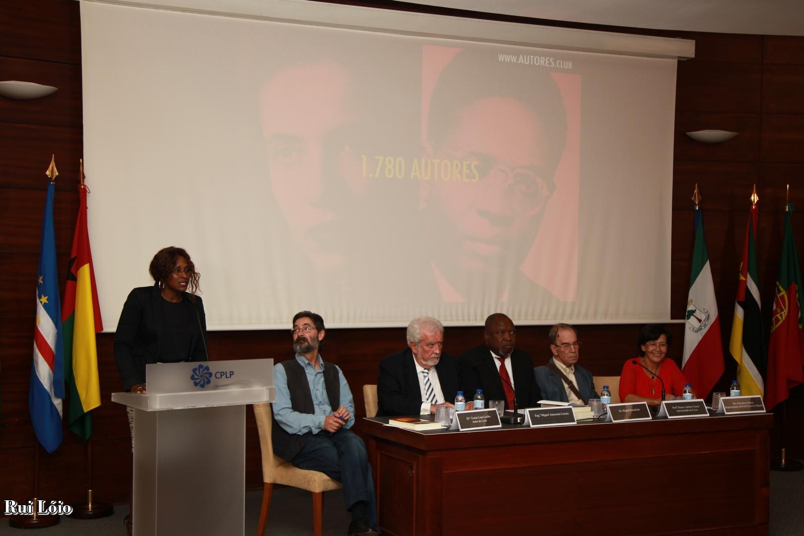 """Quinto aniversário do lançamento de """"Autores e Escritores de Angola"""""""